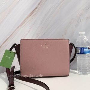 New Kate Spade Colorblock Hayden Leather Crossbody